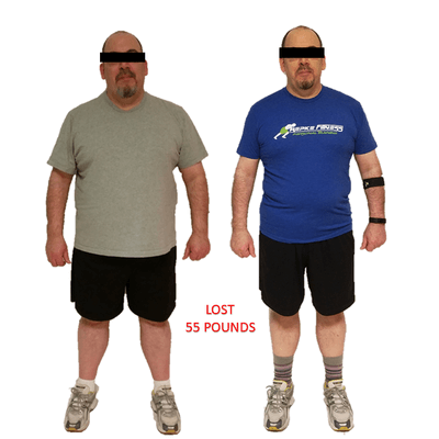 Anonymous Client, Repke Fitness client who lost 55 pounds and 10% body fat