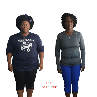 Carla, Repke Fitness client who lost 80 pounds