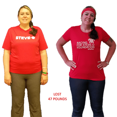 Steph, Repke Fitness client who lost 47 pounds