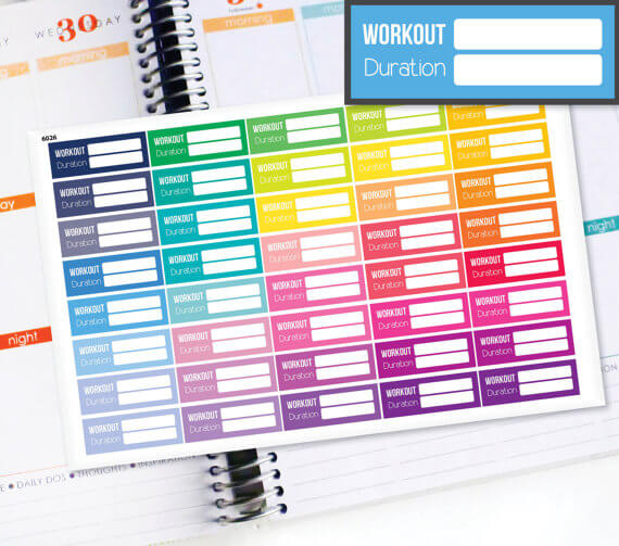 Bullet Journals For Fitness
