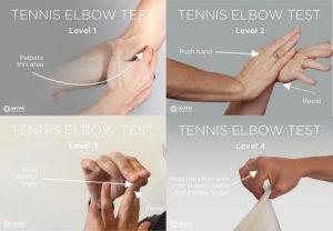 tennis elbow test