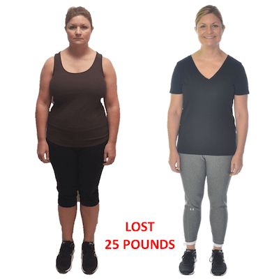 Christina, Repke Fitness client who lost 2 dress sizes