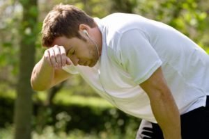 exercise related heat exhaustion