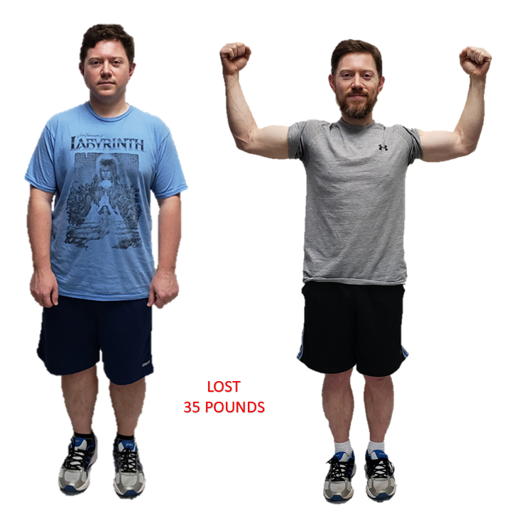 David, Repke Fitness Personal Training Client
